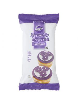 Wilton Decorator Preferred Fondant Purple - Violetti sokerimassa, 250g.