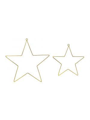 Kultaiset tähdet, 2 kpl.