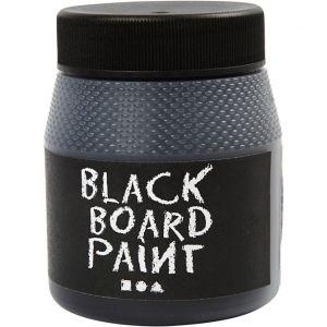 Liitutaulumaali - Musta, 250 ml