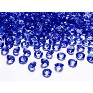 Siniset timanttikonfetit