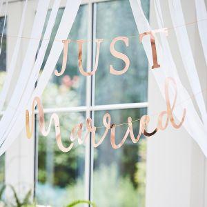 Banneri Just Married - Ruusukulta , 2 osaa