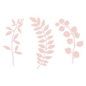 Paperikoristeet Vaaleanpunaiset lehdet