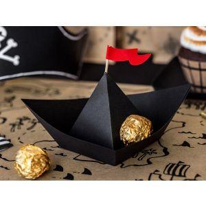Paperikoriste - Pirate Boat, 6 kpl