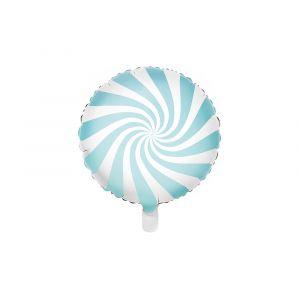 Foliopallo Vaaleansininen - Candy Pastel