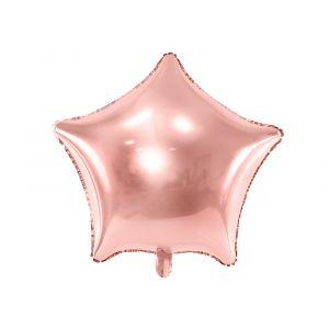 Ruusukulta tähti foliopallo
