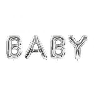 Foliopallokirjaimet, Baby, Hopea