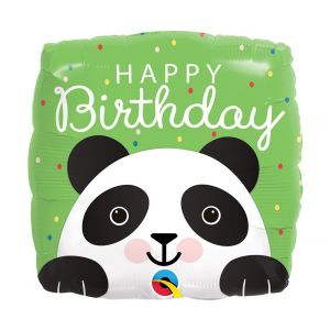 Panda foliopallo, Happy Birthday.
