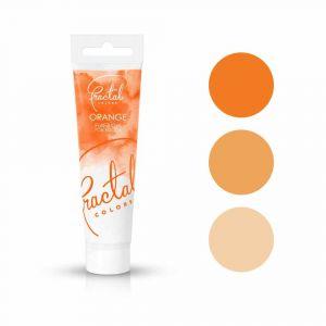 Fractal Colors FullFill Gel Orange - Oranssinen pastaväri, 30g.