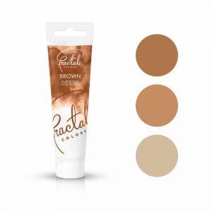 Fractal Colors FullFill Gel Brown - Ruskea pastaväri, 30g.