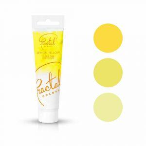 Fractal Colors FullFill Gel Lemon Yellow - Sitruunankeltainen pastaväri, 30g.