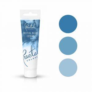 Fractal Colors FullFill Gel Royal Blue - Tummansininen pastaväri, 30g.