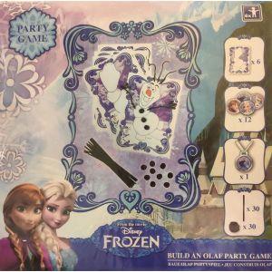 Rakenna lumiokko Olaf! Askartelusetti kuudelle lapselle.