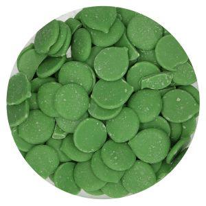Fun Cakes Deco Melts Green - Vihreät suklaanapit, 250g.