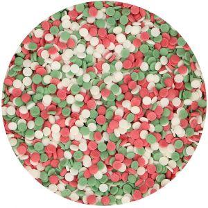 FunCakes Mini Confetti Christmas - Jouluiset mini-konfetit.