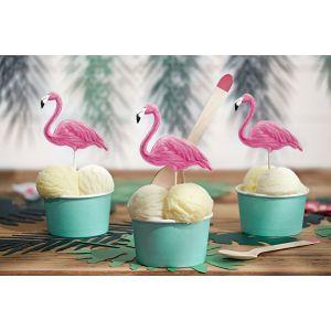 Koristetikut Flamingo 6 kpl