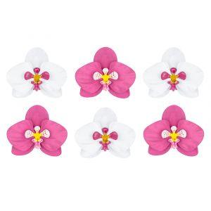 Koristeorkideat joilla luot kukkaisen tunnelman.