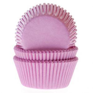 Vaaleanpunaiset muffinivuoat, 50 kpl.