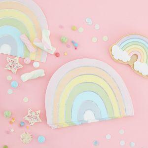 Pastellinväriset satenkaari lautasliinat