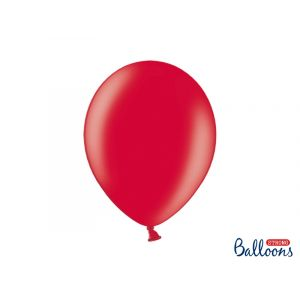 Metallinhohtoiset punaiset ilmapallot 30 cm