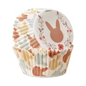 Wiltonin Kani-muffinssivuoat, pupu-kuviot, 75 kpl.
