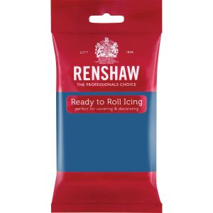 Renshaw Ready to Roll Icing Powder Blue - Sininen sokerimassa, 250g.