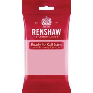 Renshaw Ready to Roll Icing Pink - Vaaleanpunainen sokerimassa, 250g.