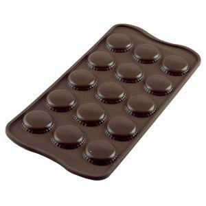 Silikomart silikonimuotti -  Macarons,  26 mm.