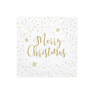 Joulu-servetit, Merry Christmas, 20 kpl.