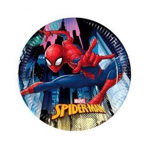 Spiderman pikkulautaset, 8 kpl.