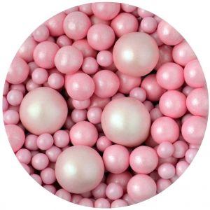 Scrumptious Sprinkletti Bubbles Pink - Pallomainen vaaleanpunainen koristerae.
