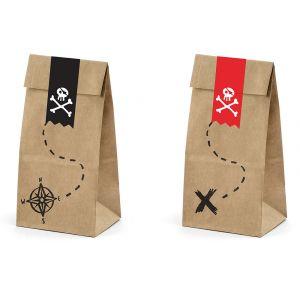 Paperipussit Pirates 6kpl