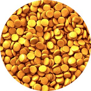 Wilton Gold Mini-confetti - Kultainen konfetti-strösseli.
