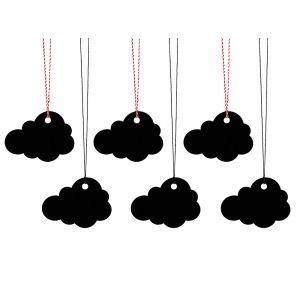 Pilvet Tagit Mustat 6 kpl