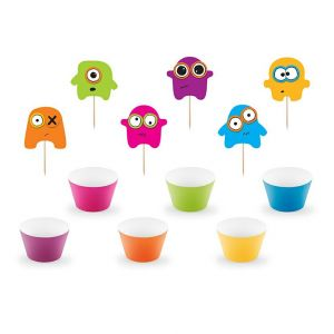 Cupcake -setti Monsters