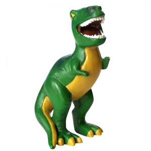 Kakkukoriste, kakkuhahmo, joka esittää T-rex dinosaurusta!