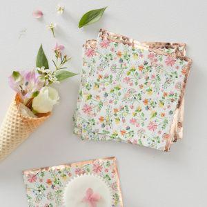 Pienet servetit, Ditsy Floral, 16 kpl