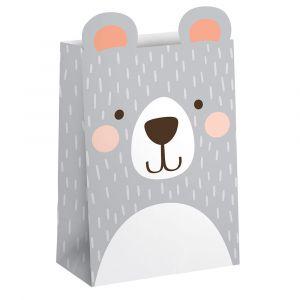 Paperipussit Birthday Bear, 8kpl